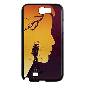 The Hunger Games Artwork Poster Samsung Galaxy N2 7100 Cell Phone Case Black toy pxf005_5805347