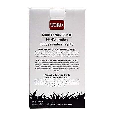 Genuine OEM Toro Maintenance Tune up Kit 130-8135 for GCV160 LA0S3T Engines: Garden & Outdoor