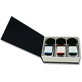 Pilot Iroshizuku Mini Fountain Pen Ink - 15 ml Bottle 3 Colors Set - AMA/FG/SY (Japan Import)