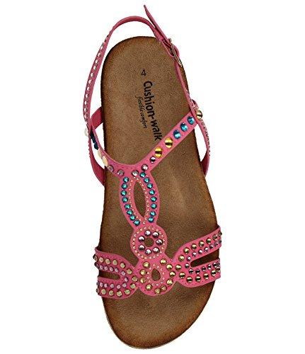 Walk Cushion Cushion Walk Donna Sandali Sandali Pink qE7qwtd1