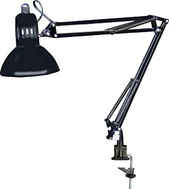 325 manicure nail table swing arm lamp black wclamp by dina meri 325 manicure nail table swing arm lamp black wclamp by dina meri mozeypictures Gallery