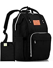 Diaper Bag Backpack - Large Waterproof Travel Baby Bags