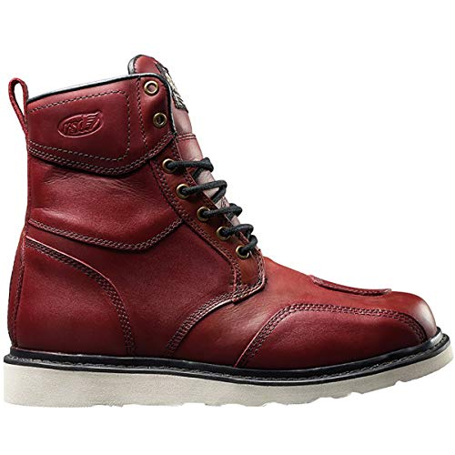 Roland Sands Design Mojave Men's Street Motorcycle Boots - Oxblood / 8