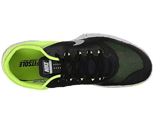 Nike Fs Lite Trainer Ii Heren Ronde Neus Synthetisch Blauwe Sportschoen Zwart Metallic Platina Volt Wit 015
