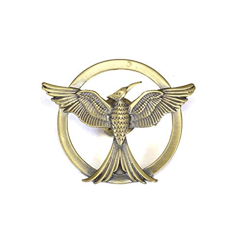 Catching Fire Mockingjay Replica Pin San Diego 2013 SDCC Exclusive (Peeta Costume)