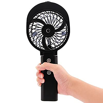 DOIOWN Handheld Portable Table Mini Fan Battery Rechargeable