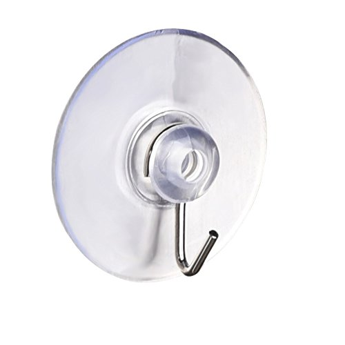 Mudder 45mm Bathroom Kitchen Suction Cup Wall Hooks Hangers, 12 Pack