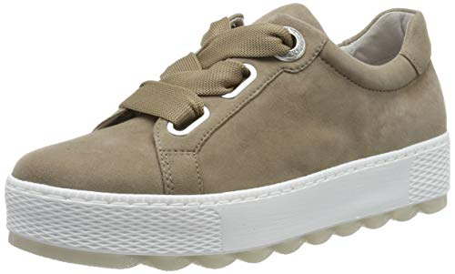 Gabor Shoes Women's Comfort Basic Low-Top Sneakers Beige (Sahara 41) 8 UK (42 -