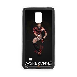 C-EUR Diy case Wayne Rooney customized Hard Plastic Case For Samsung Galaxy note 4 [Pattern-6]