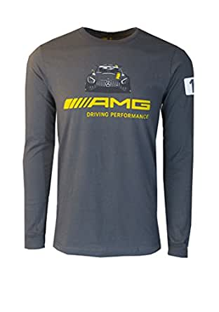 Mercedes benz men 39 s amg driving performance graphic long for Mercedes benz shirts