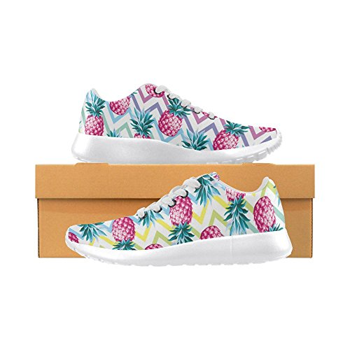 Jogging Sports Athletic Stripes Womens Go Pineapple Comfort Easy InterestPrint Sneaker Walking Running Lightweight Shoes pfOvwq5z