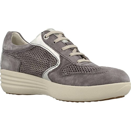 comfort laces sneaker zeppetta woman Grigio shoes jeans 106215 STONEFLY TfqB00