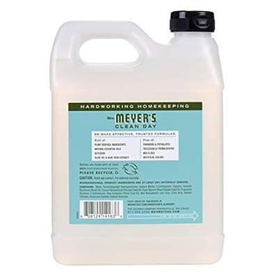 Mrs. Meyer's Liquid Hand Soap Refill, Basil, 33 Fluid Ounce, Pack of 1