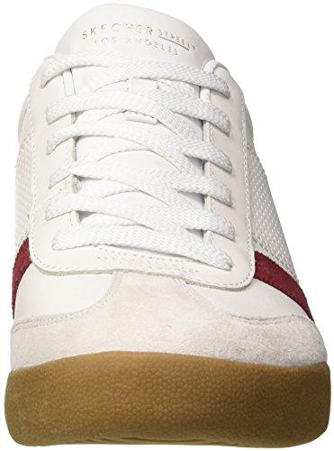 Zinger White Navy Skechers Sneaker Weiß Herren gT88fqnO