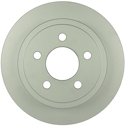 (Bosch 16010162 QuietCast Premium Disc Brake Rotor For Jeep: 2003-07 Liberty, 2003-06 Wrangler, Rear)