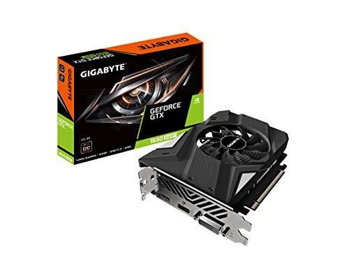 Gigabyte GeForce GTX 1650 Super OC 4G Graphics Card, 90mm Fan, 4GB 128-Bit GDDR6, Gv-N165SOC-4GD Video Card