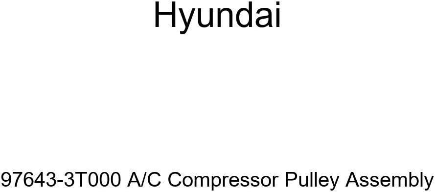 Genuine Hyundai 97643-3T000 A/C Compressor Pulley Assembly