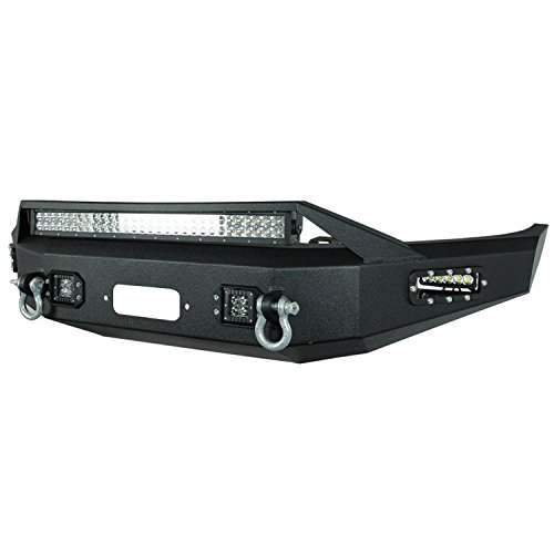 Winch Bumper Ford (Paramount Automotive 57-0110 Front LED Winch Bumper)
