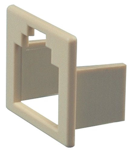 Allen Tel Products AT6-4 Converts 6 Position Jack To 4 Position Jack Insert, Ivory, 10-Pack