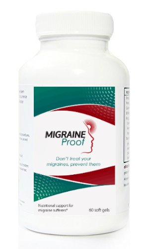 Migraine Proof with Vitamin B2 and Fish Oil, 60 Gel Caps