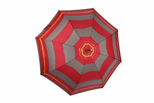 po-campo-rain-street-circles-umbrella-red