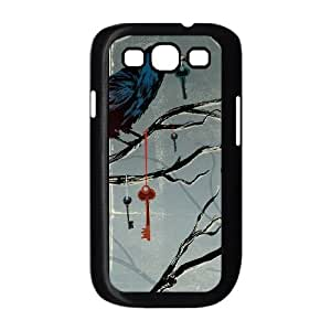 Noah MacMillan Dark Crow Halloween Samsung Galaxy S3 9300 Cell Phone Case Black Protect your phone BVS_578053