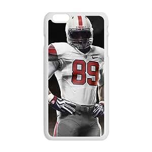 SANLSI Nike Pro Combat White Phone Case for Iphone6 plus