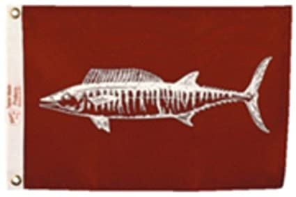 Amazon com: New Wahoo Fish Flag Nylon 12