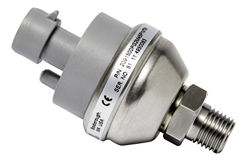Setra Systems 2091100PG2M1102 Model 209 Industrial Pressure Transducer, Gauge Pressure, Rugged Low Pressure, Robust Design, Reliable 0-100 psig, 1/4