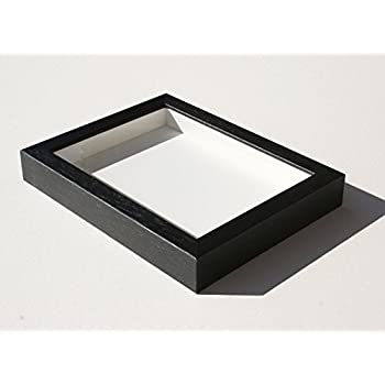 Amazon.com - Lawrence Frames 790080 Black Wood Shadow Box Picture ...