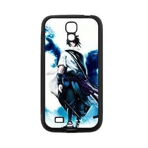 Custom Cartoon Naruto Sasuke Uchiha Samsung Galaxy S4 I9500 TPU Case Cover phone Cases Covers Kimberly Kurzendoerfer