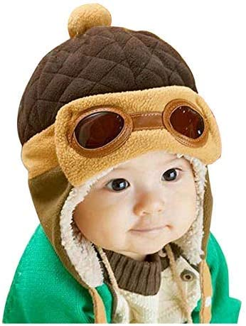 Crochet Earflap Rabbit Beanie Toddlers product image