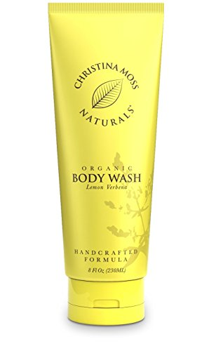 Verbena Natural (Body Wash, Organic And 100% Natural Body Cleanser For Bath, Shower. No Harmful Chemicals. Certified Organic Ingredients. 8oz, Lemon Verbena. Christina Moss Naturals.)