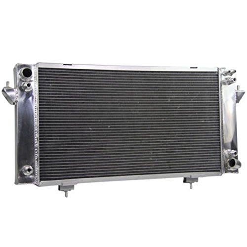 Primecooling 55MM 3 Row Core Aluminum Radiator for Land Rover Discovery Series, Range Rover 3.9L 4.0L V8 1987-1998