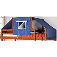 DONCO Kids 755-E-Blue Tent Kit Accessory with Fabric, Light Espresso/Blue
