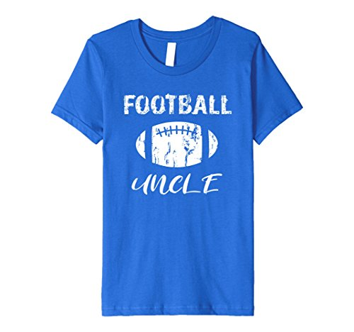 Kids Football Uncle Premium T Shirt 12 Royal (Pep Rally Costume Ideas)