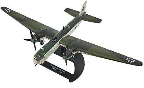 1/72スケールボンバーモデル、軍事ハインケル彼177 JGプラモデル、大人のグッズやギフト、8.5Inch X 6.1Inch