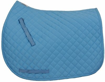 tuffrider-basic-all-purpose-saddle-pad-neon-blue-std