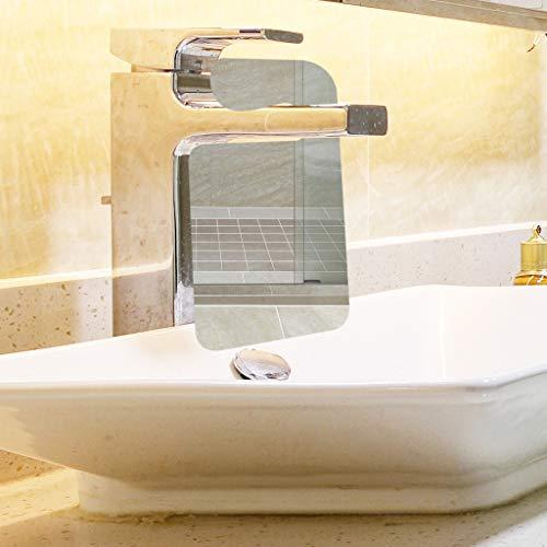 (MSOO Shower Mirror Bathroom Washroom Shaving Mirror Portable Traveling Shaving Mirror)