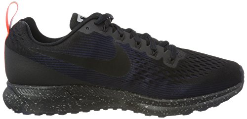 BLACK Men's BLACK OBSIDIAN 34 BLACK BLACK Shield Air Zoom BLACK Nike Pegasus OBSIDIAN BLACK wUpdnq7TT8