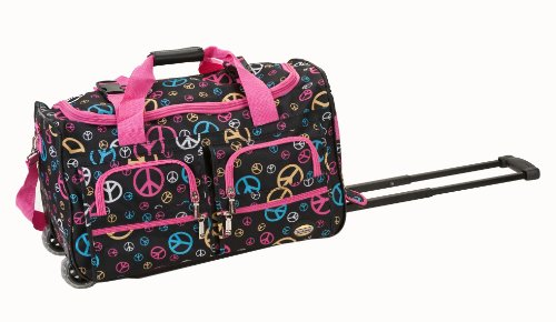 rockland-luggage-rolling-22-inch-duffle-bag-peace-one-size