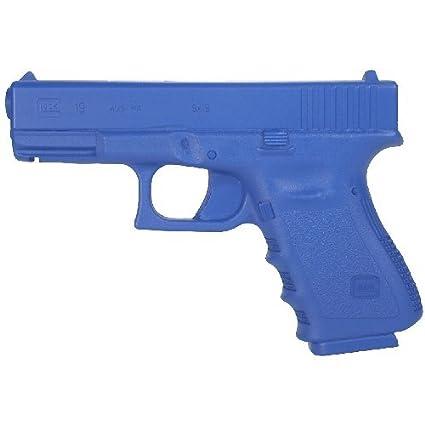 Amazon.com: Glock 19 Azul Formación Gun – preponderado al ...