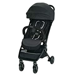 The Graco Jetsetter Stroller features an ultra-compact one-hand fold and is compatible to use from birth with any Graco Click Connect Infant Car Seat. Weighing only 14 lb, this stylish compact stroller is packed with features you'd expect in ...