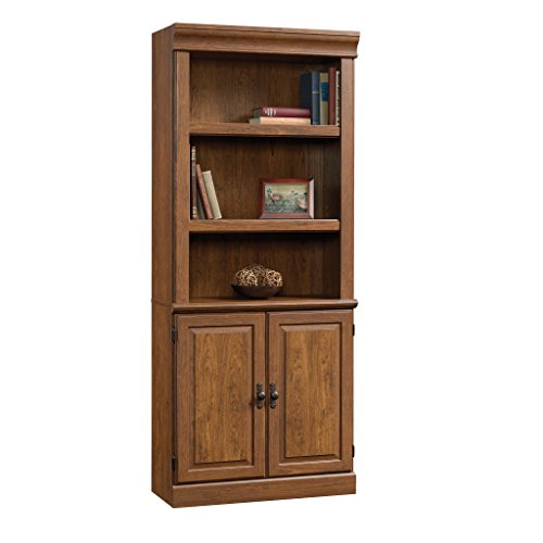 Sauder 418734 Orchard Hills Library with Doors, L: 29.45