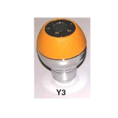 - Automatic Universal Shift Knob Yellow Aluminum