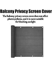 HUVE 0.35x1.97in Balcón Cubierta De La Pantalla De Privacidad Cubierta De Protección UV Resistente A La Intemperie Cubierta De La Pantalla De Privacidad Cerca Parabrisas con Bridas para Cables