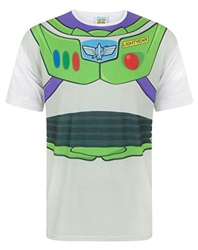 Bo Peep Toy Story Costume - Disney Toy Story Buzz Lightyear Costume Men's T-Shirt (XL)
