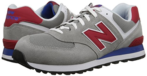 Grey Nbml574mon Balance New Uomo red Sneaker qSIgSxwfR