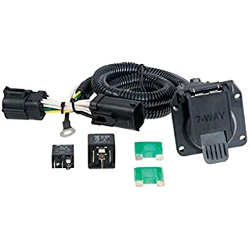 CURT Manufacturing 56273 Vehicle-Side Custom 4-Pin Trailer Wiring Harness  for Select Ford FocusATMA-MArketing