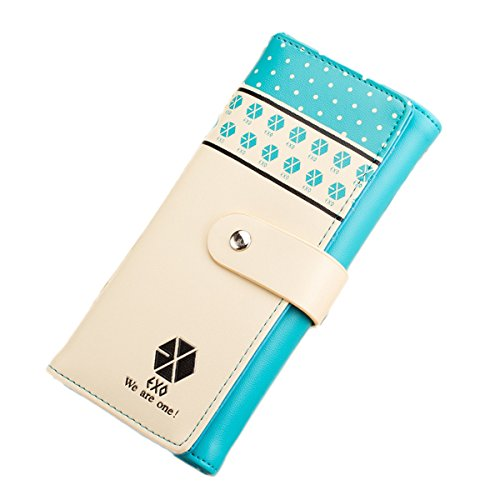Music Fan Kpop Exo Logo Long Wallet Purse Cute Girlfriend Gi